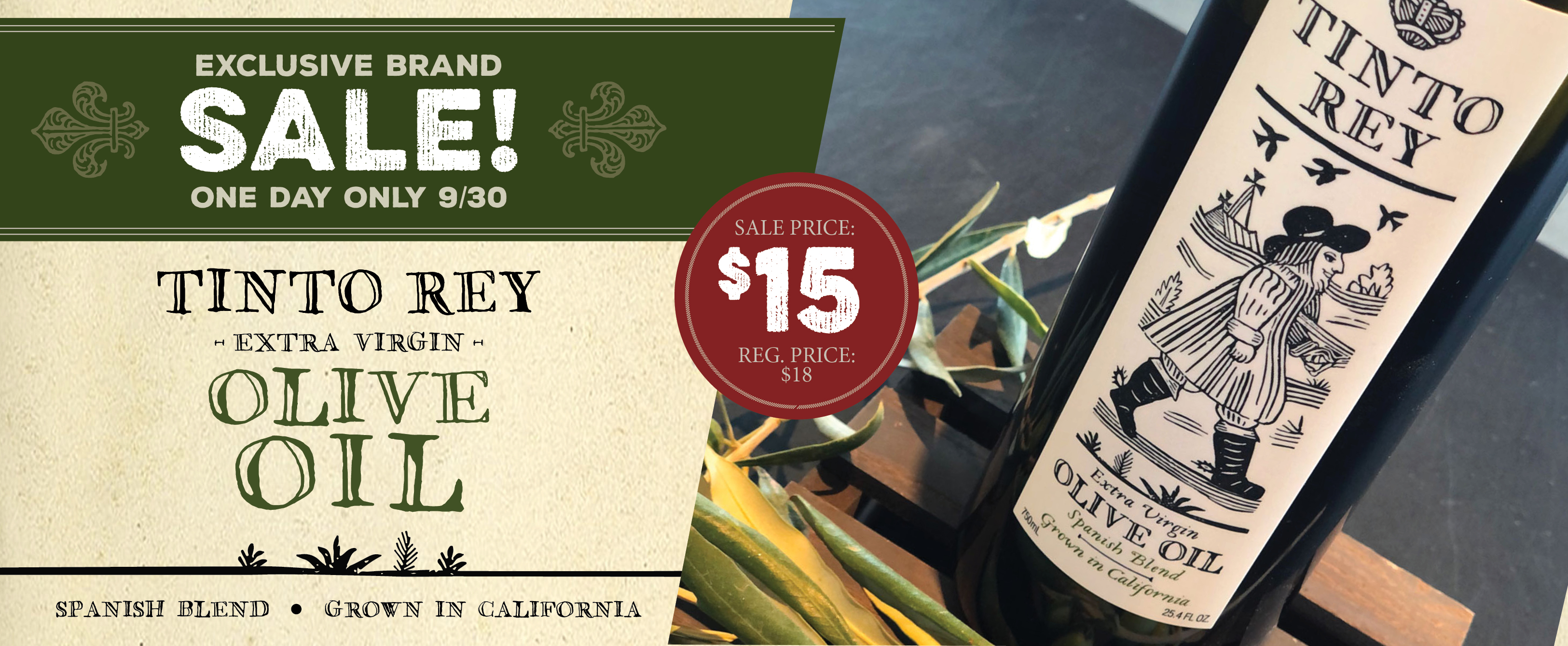 Tinto Rey Olive Oil Sale